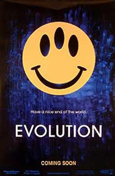 EVOLUTION (Advance) ORIGINAL CINEMA POSTER