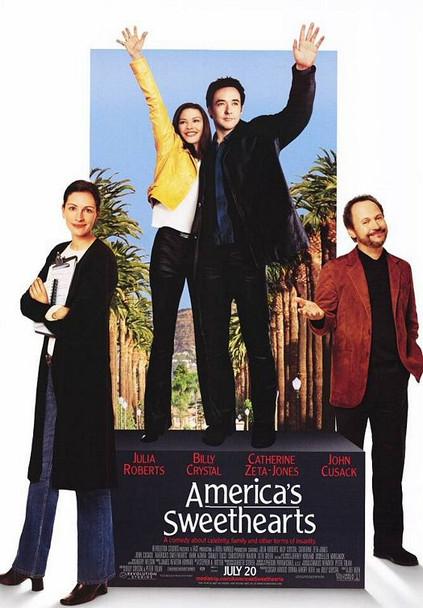 AMERICA'S SWEETHEARTS (SINGLE SIDED) ORIGINAL CINEMA POSTER