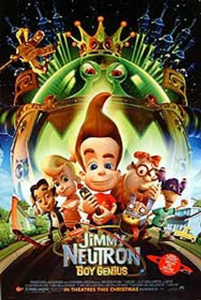 JIMMY NEUTRON - BOY GENIUS (Advance) (Double Sided) ORIGINAL CINEMA POSTER