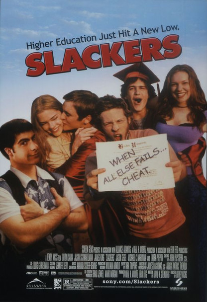SLACKERS (single Sided) ORIGINAL CINEMA POSTER