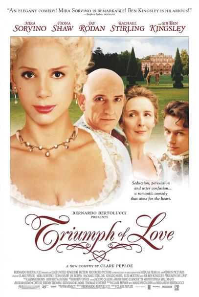 TRIUMPH OF LOVE ORIGINAL CINEMA POSTER