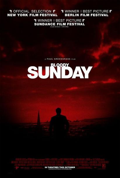BLOODY SUNDAY (Single Sided Regular) ORIGINAL CINEMA POSTER