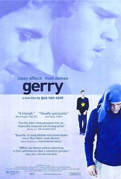 GERRY (Double Sided Regular) ORIGINAL CINEMA POSTER