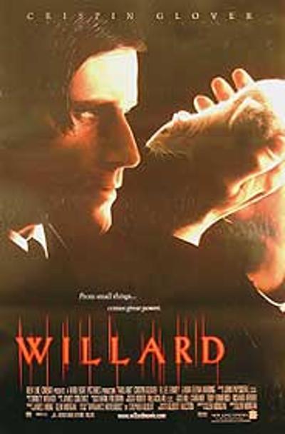 WILLARD (Single Sided Regular) ORIGINAL CINEMA POSTER