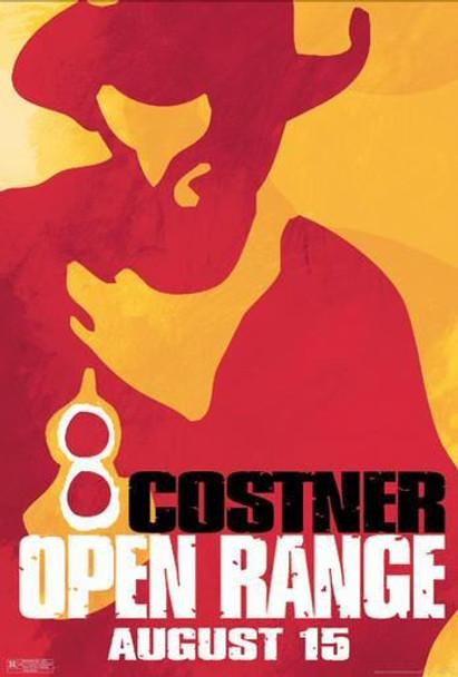 OPEN RANGE (Single Sided Advance Portrait) ORIGINAL CINEMA POSTER