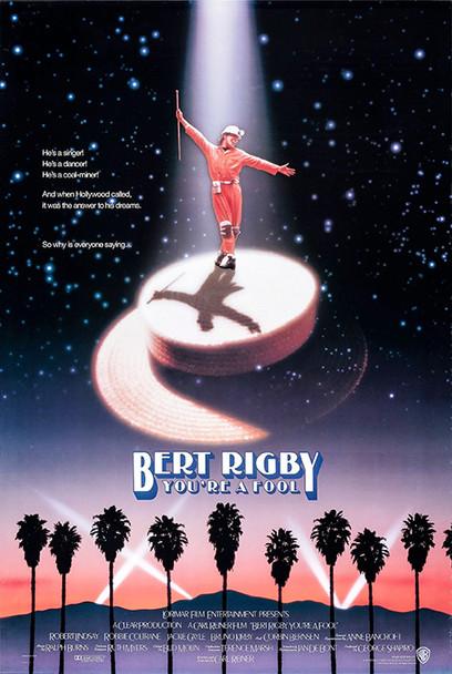 BERT RIGBY, YOU'RE A FOOL (Single Sided Regular) ORIGINAL CINEMA POSTER
