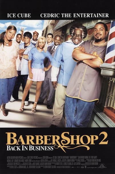 BARBERSHOP 2 (Single Sided Regular) ORIGINAL CINEMA POSTER