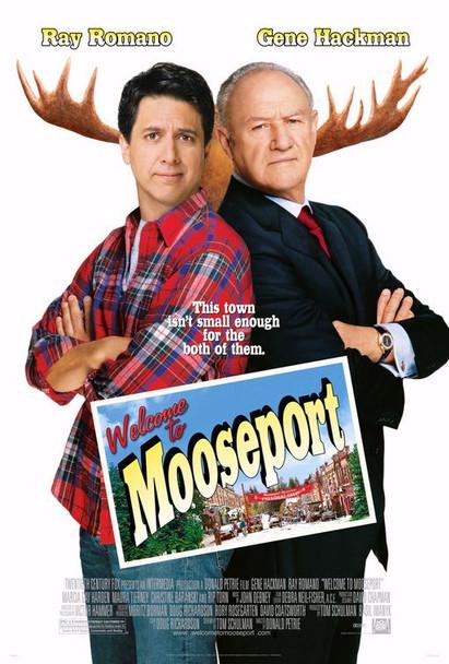 WELCOME TO MOOSEPORT (Double Sided Regular) ORIGINAL CINEMA POSTER