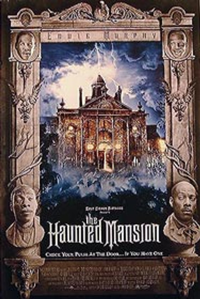 THE HAUNTED MANSION (Double Sided Regular Mansion) ORIGINAL CINEMA POSTER