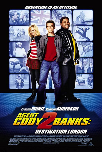 AGENT CODY BANKS 2: DESTINATION LONDON (Double Sided Regular) ORIGINAL CINEMA POSTER