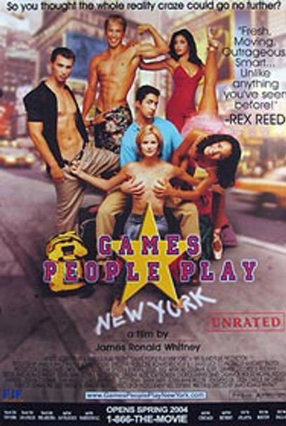 GAMES PEOPLE PLAY (Single Sided Regular) ORIGINAL CINEMA POSTER