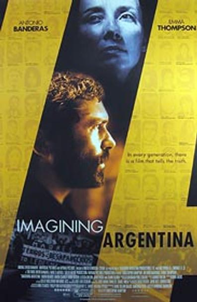 IMAGINING ARGENTINA (Double Sided Regular) ORIGINAL CINEMA POSTER