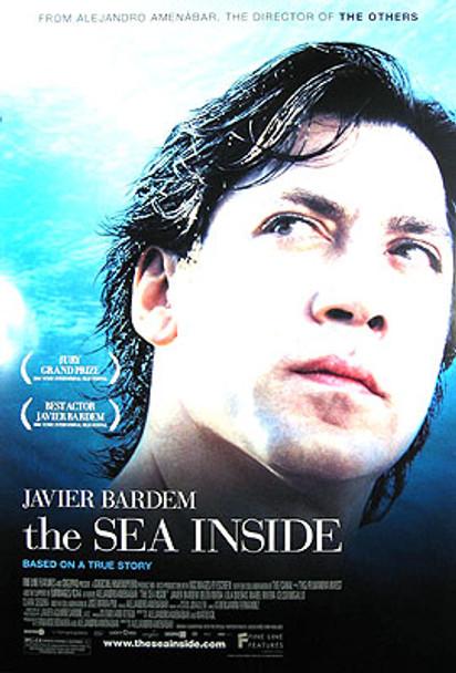 THE SEA INSIDE (Single Sided Regular) ORIGINAL CINEMA POSTER
