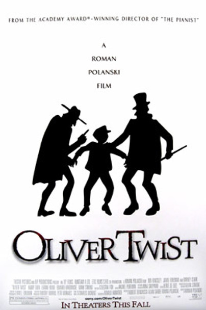 OLIVER TWIST (Double Sided Regular) ORIGINAL CINEMA POSTER