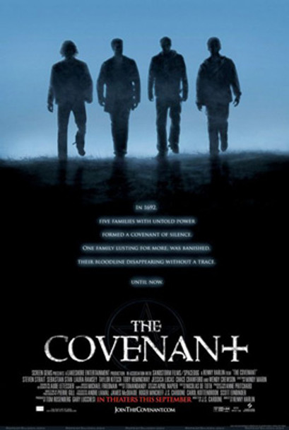 THE COVENANT (Double Sided Regular) (UV COATED/HIGH GLOSS) ORIGINAL CINEMA POSTER