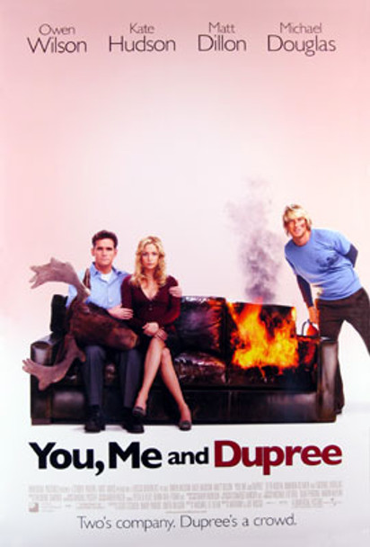 YOU, ME AND DUPREE (Double Sided International) ORIGINAL CINEMA POSTER