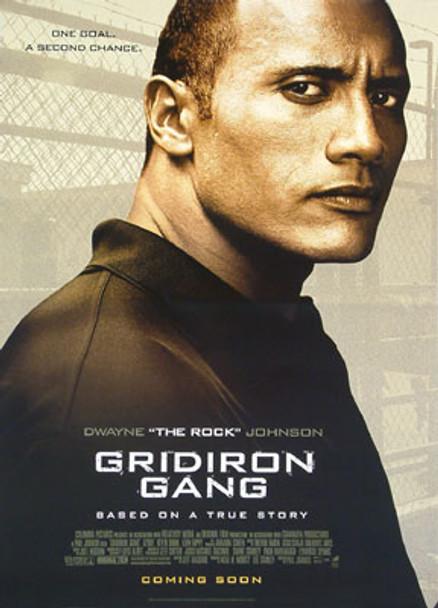 GRIDIRON GANG (Double Sided Advance Style B) ORIGINAL CINEMA POSTER