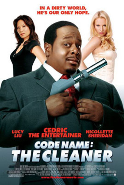 CODE NAME: THE CLEANER (Double Sided Regular) ORIGINAL CINEMA POSTER