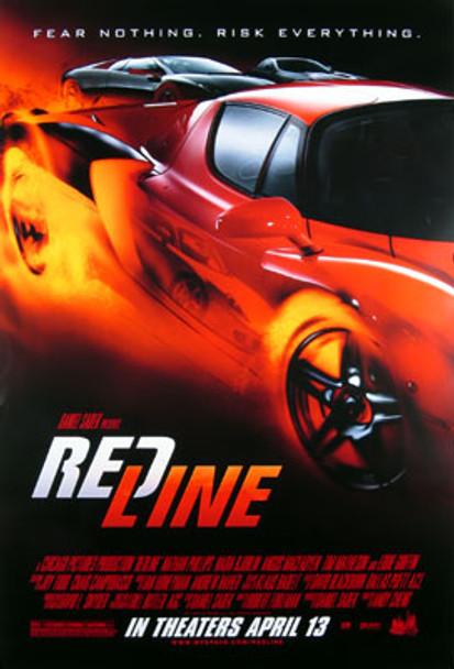REDLINE (Double Sided Regular) ORIGINAL CINEMA POSTER