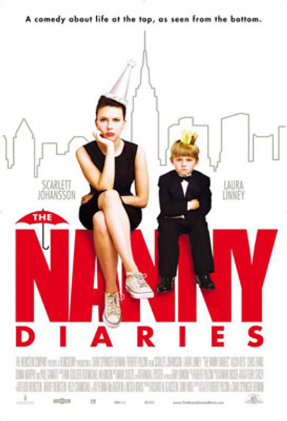THE NANNY DIARIES (Double Sided Regular) ORIGINAL CINEMA POSTER