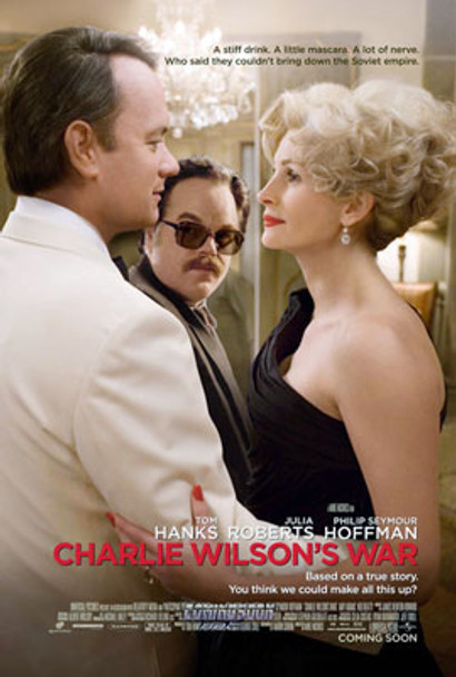 CHARLIE WILSON'S WAR (DOUBLE SIDED) ORIGINAL CINEMA POSTER