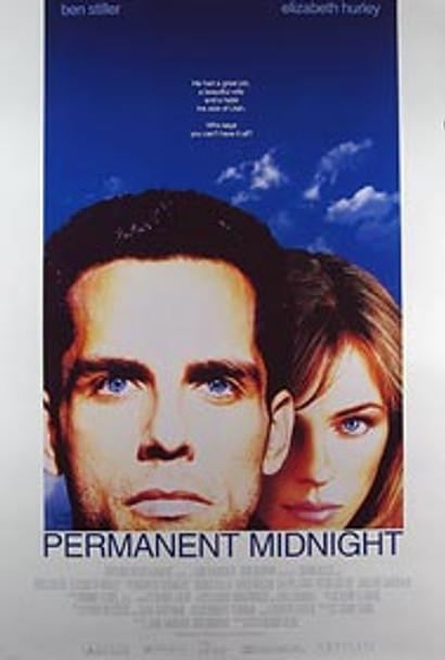 PERMANENT MIDNIGHT (Video) ORIGINAL VIDEO/DVD AD POSTER