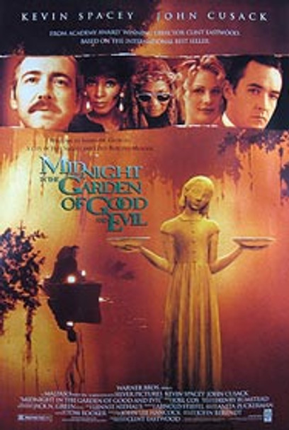 MIDNIGHT IN THE GARDEN OF GOOD AND EVIL (Video) ORIGINAL VIDEO/DVD AD POSTER