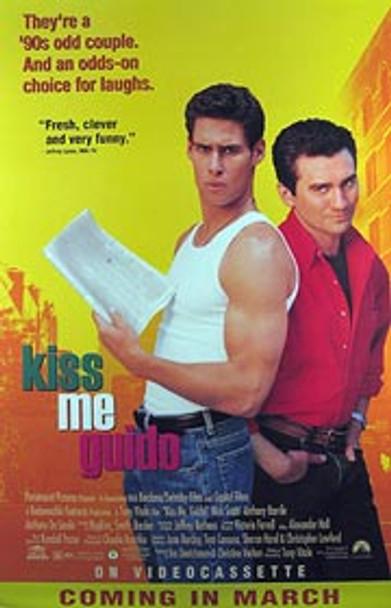 KISS ME GUIDO (Video) ORIGINAL VIDEO/DVD AD POSTER