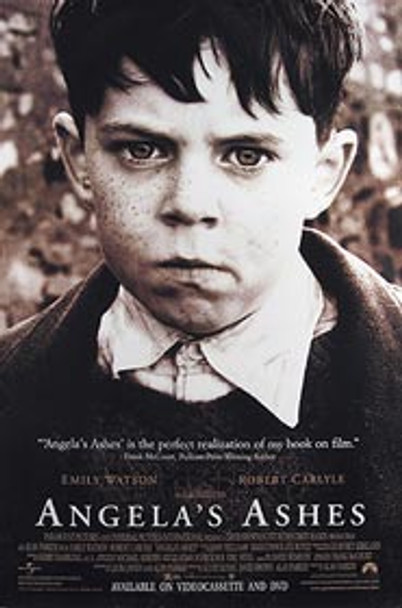 ANGELA'S ASHES (Video) ORIGINAL VIDEO/DVD AD POSTER