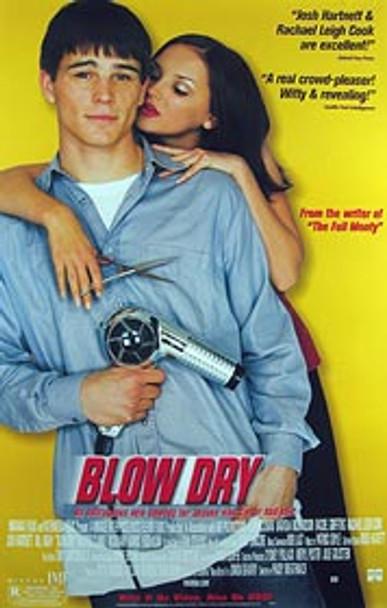 BLOW DRY (Video) ORIGINAL VIDEO/DVD AD POSTER
