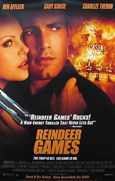 REINDEER GAMES (Video) ORIGINAL VIDEO/DVD AD POSTER