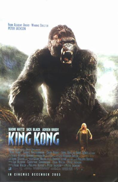 KING KONG (Single-sided Reprint Mountain) REPRINT POSTER