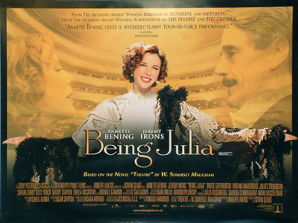 BEING JULIA (DOUBLE SIDED) ORIGINAL CINEMA POSTER