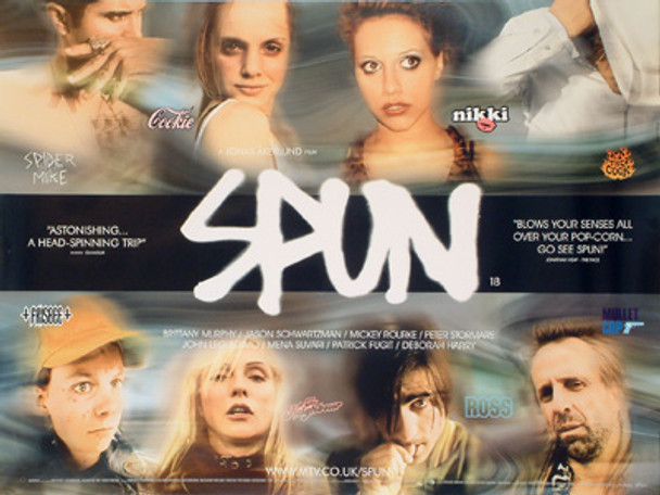 SPUN (DOUBLE SIDED) ORIGINAL CINEMA POSTER