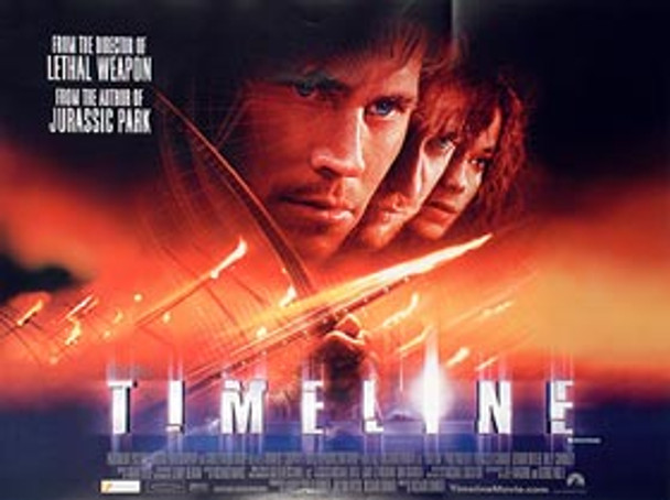 TIMELINE ORIGINAL CINEMA POSTER