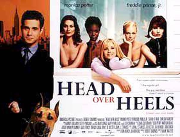 HEAD OVER HEELS (DOUBLE SIDED) ORIGINAL CINEMA POSTER