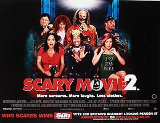 SCARY MOVIE 2 ORIGINAL CINEMA POSTER