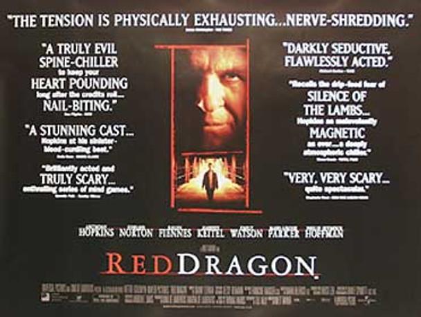 RED DRAGON (Quotations) ORIGINAL CINEMA POSTER