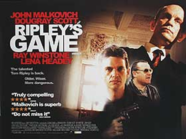 RIPLEY'S GAME ORIGINAL CINEMA POSTER
