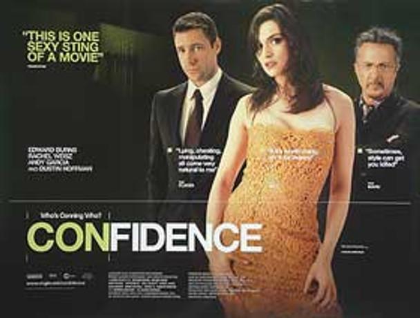 CONFIDENCE ORIGINAL CINEMA POSTER