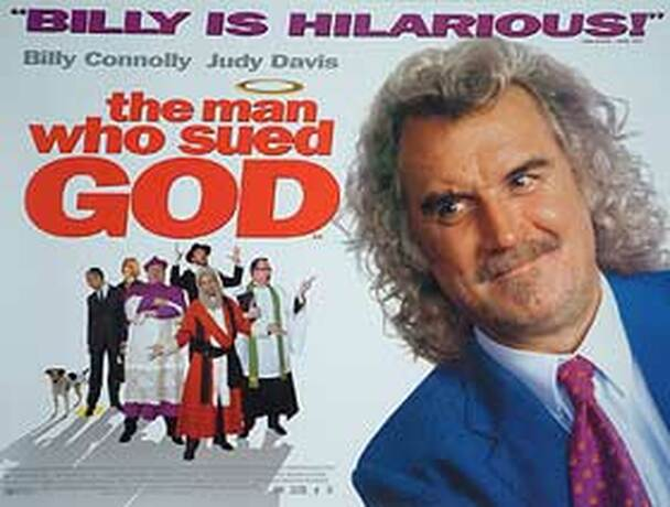 THE MAN WHO SUED GOD ORIGINAL CINEMA POSTER