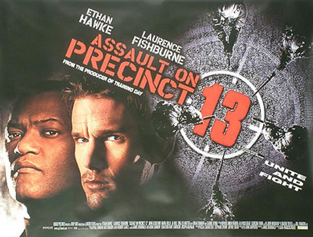 ASSAULT ON PRECINCT 13 ORIGINAL CINEMA POSTER