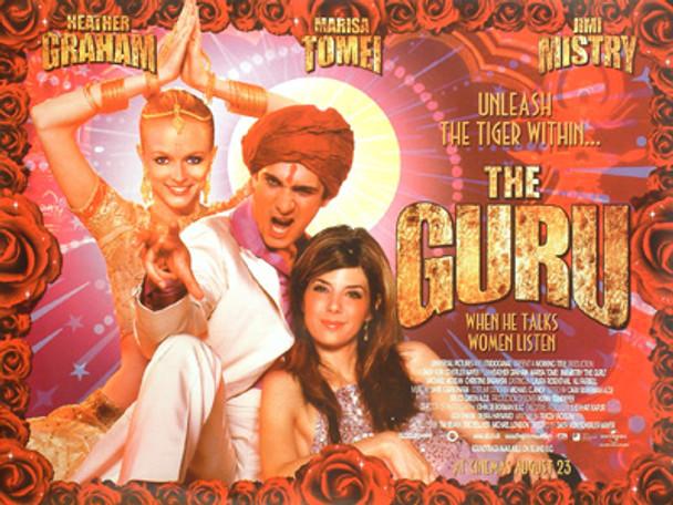 THE GURU (Double Sided) ORIGINAL CINEMA POSTER