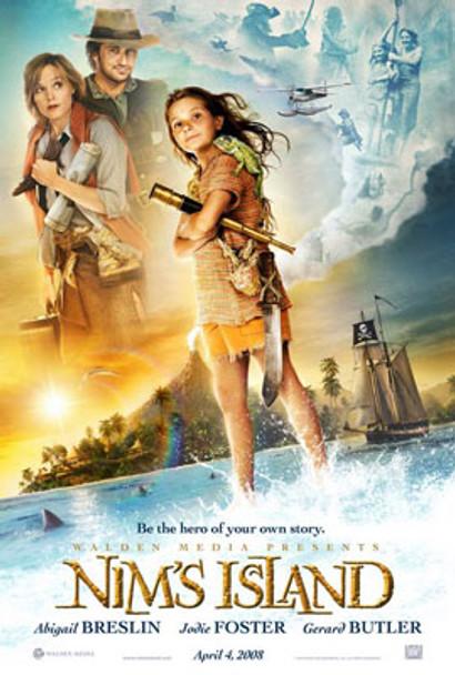 NIM'S ISLAND (Double Sided Advance) ORIGINAL CINEMA POSTER