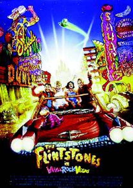 The Flintsones Viva Rock Vegas (Double Sided) ORIGINAL CINEMA POSTER