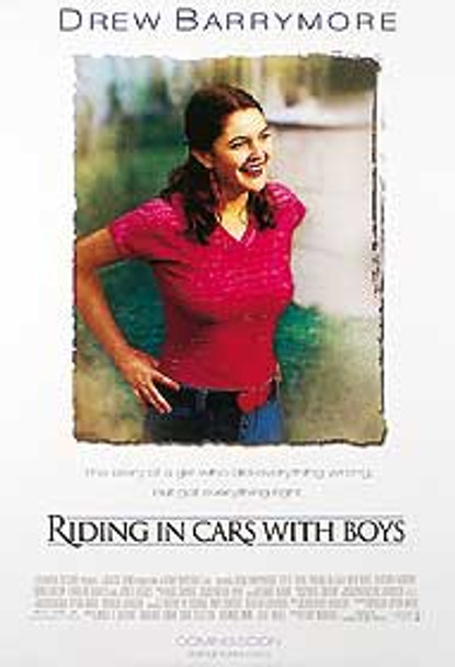 RIDING IN CARS WITH BOYS (DOUBLE SIDED) ORIGINAL CINEMA POSTER