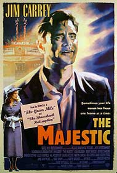 THE MAJESTIC (Double-sided) ORIGINAL CINEMA POSTER