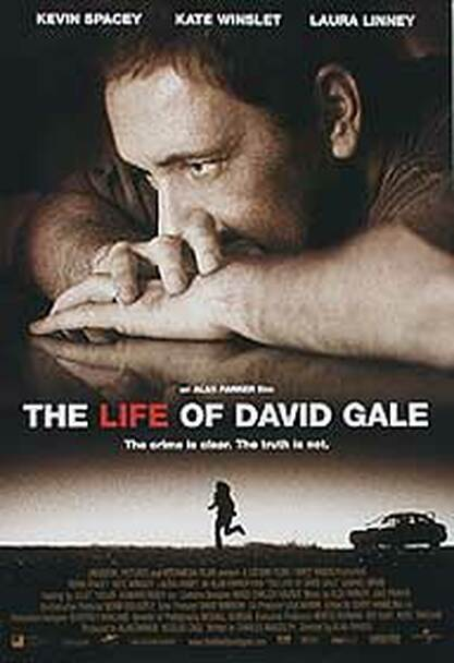 THE LIFE OF DAVID GALE (DOUBLE SIDED) ORIGINAL CINEMA POSTER