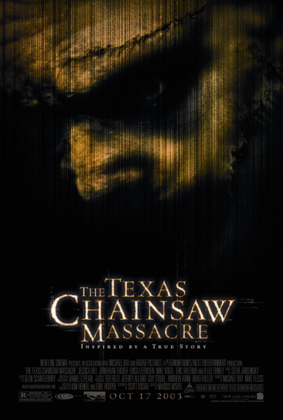 THE TEXAS CHAINSAW MASSACRE (Single Sided Regular) ORIGINAL CINEMA POSTER
