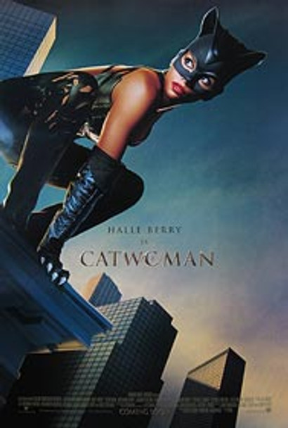 CATWOMAN (Double Sided International) ORIGINAL CINEMA POSTER